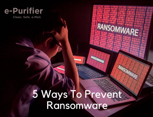 Five ways to prevent Ransomware